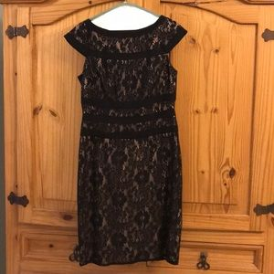 NWT Adrianna Papell Lace Cutout cocktail dress